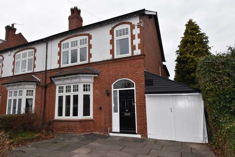 4 Bedrooms Semi Detached House for sale in Franklin Road, Bournville, Birmingham