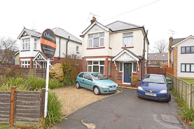 3 Bedrooms Detached House for sale in Sycamore Road, Farnborough, GU14
