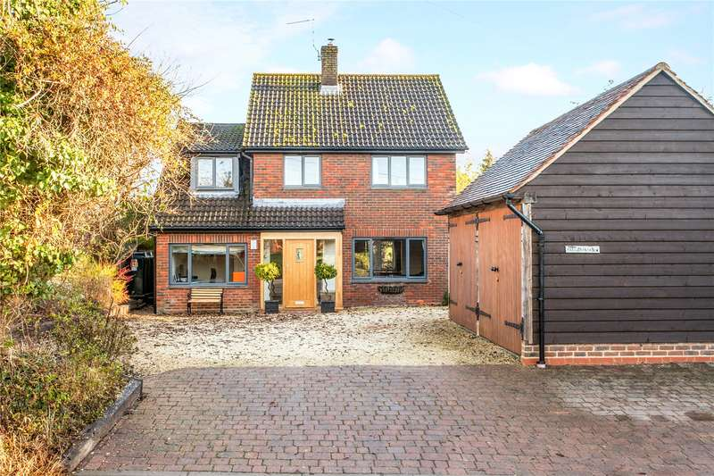 4 Bedrooms Detached House for sale in Northbrook, Micheldever, Winchester, Hampshire, SO21