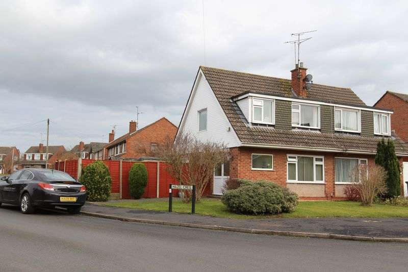 3 Bedrooms Semi Detached House for sale in Hazel Crescent,