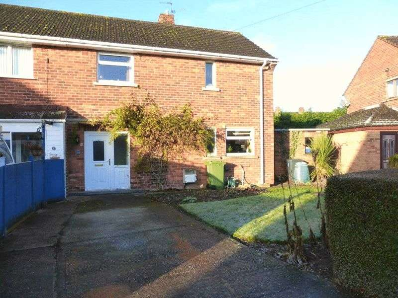 3 Bedrooms Semi Detached House for sale in Bennington Close, Lincoln