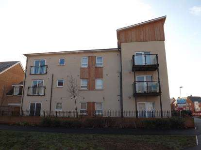 2 Bedrooms Flat for sale in Planets Way, Biggleswade, Bedfordshire