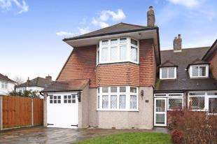 3 Bedrooms Semi Detached House for sale in Tideswell Road, Shirley, Croydon, Surrey