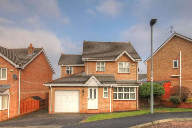 3 Bedrooms Detached House for sale in Barrington Meadows, Bishop Auckland, Co Durham, DL14