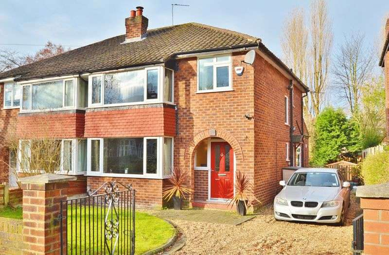 3 Bedrooms Semi Detached House for sale in St Georges Crescent, Salford
