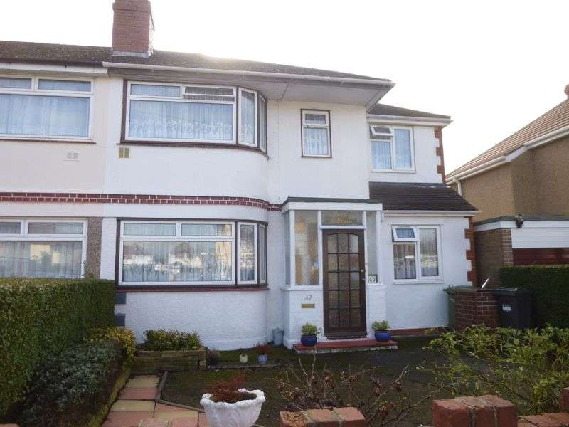 5 Bedrooms Semi Detached House for sale in Longford Avenue, Feltham