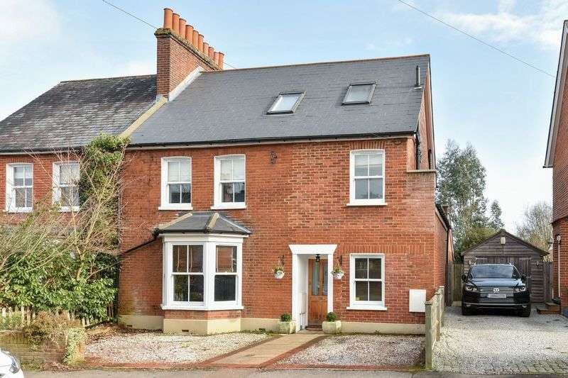 5 Bedrooms Semi Detached House for sale in Glebe Road, Ashtead