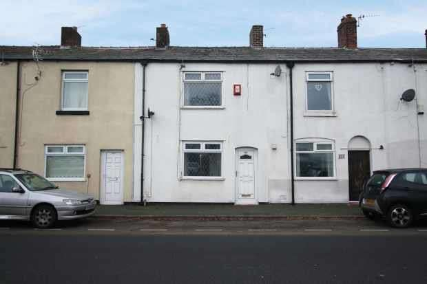 2 Bedrooms Terraced House for sale in Warrington Road, Glazebury, Cheshire, WA3 5NX