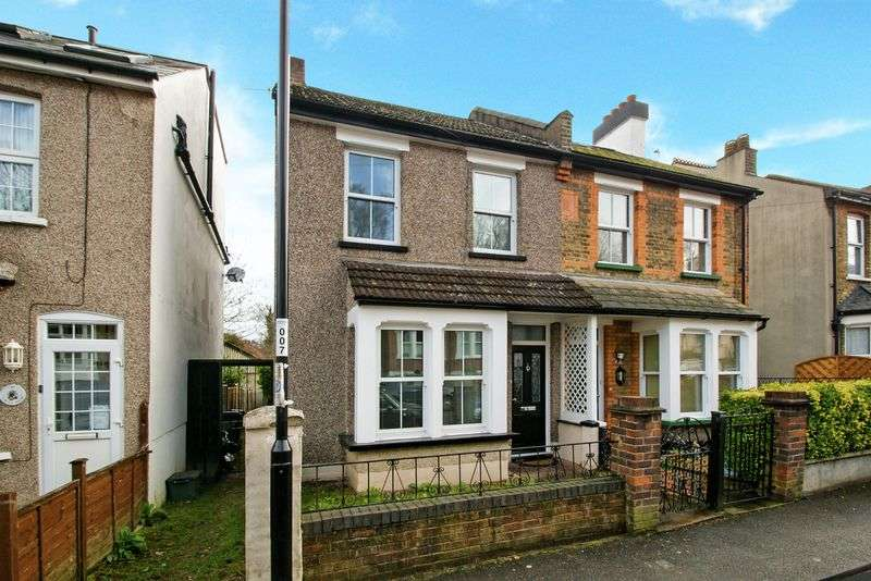 4 Bedrooms Semi Detached House for sale in Churchill Road, South Croydon