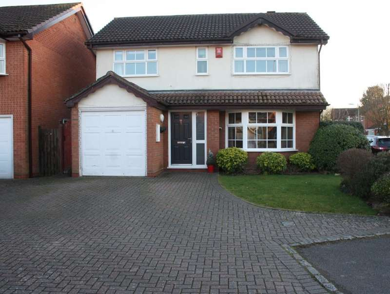 4 Bedrooms Detached House for sale in Catalina Close, Woodley, Reading, RG5