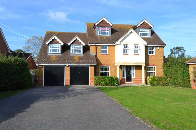 5 Bedrooms Detached House for sale in Birkdale Close, Chestfield, Whitstable
