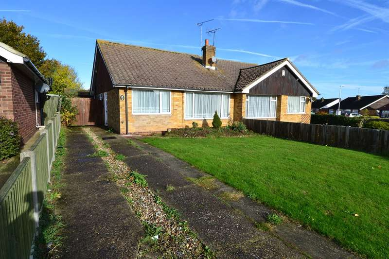 2 Bedrooms Semi Detached Bungalow for sale in Swalecliffe Road, Tankerton, Whitstable