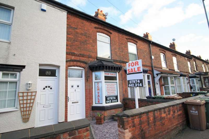3 Bedrooms Terraced House for sale in Beacon Street, Walsall, WS1 2DL