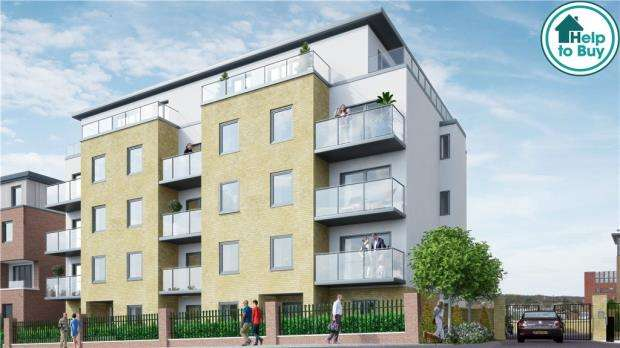 2 Bedrooms Apartment Flat for sale in Viridium, Frimley Road, Camberley