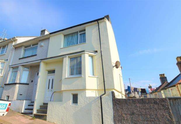 2 Bedrooms End Of Terrace House for sale in Cotehele Avenue, Keyham, Plymouth, Devon
