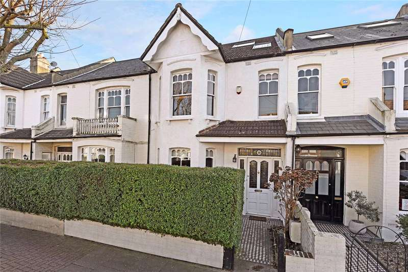 4 Bedrooms Terraced House for sale in Lavenham Road, London, SW18