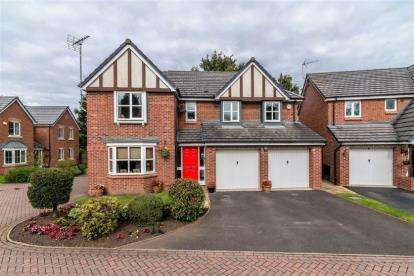 5 Bedrooms Detached House for sale in Bridgeford Grove, Great Bridgeford, Stafford, Staffordshire