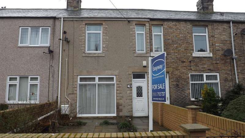 3 Bedrooms Terraced House for sale in Swarland Terrace, Red Row, Morpeth, Northumberland, NE61 5AW