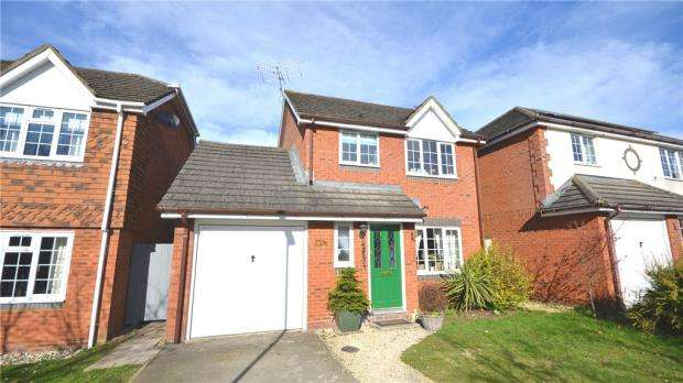 3 Bedrooms Detached House for sale in Sherlock Lea, Eversley, Hook