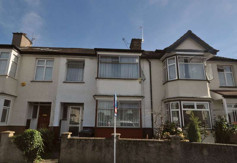 3 Bedrooms Terraced House for sale in Manton Avenue, Hanwell, W7 2DY