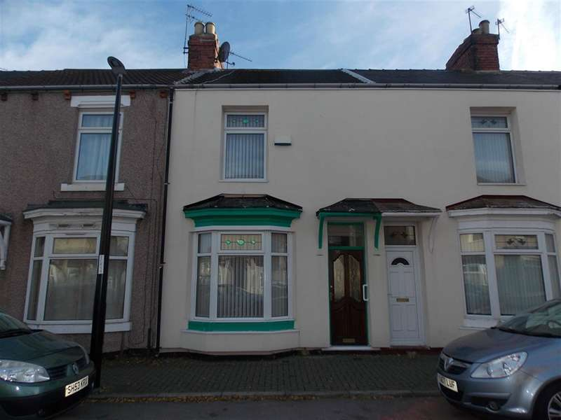 3 Bedrooms Terraced House for sale in Warwick Street, Middlesbrough, TS1 4NX