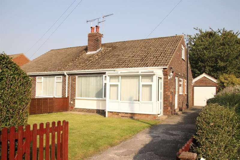 2 Bedrooms Semi Detached Bungalow for sale in Hillbank Grove, Harrogate, HG1 4EA