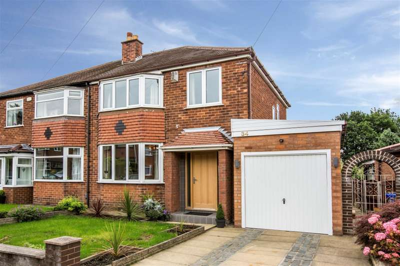 3 Bedrooms Semi Detached House for sale in Stetchworth Drive, Boothstown, Worsley, M28 1EX
