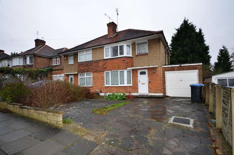 3 Bedrooms Semi Detached House for sale in Wentworth Hill, HA9 9SG