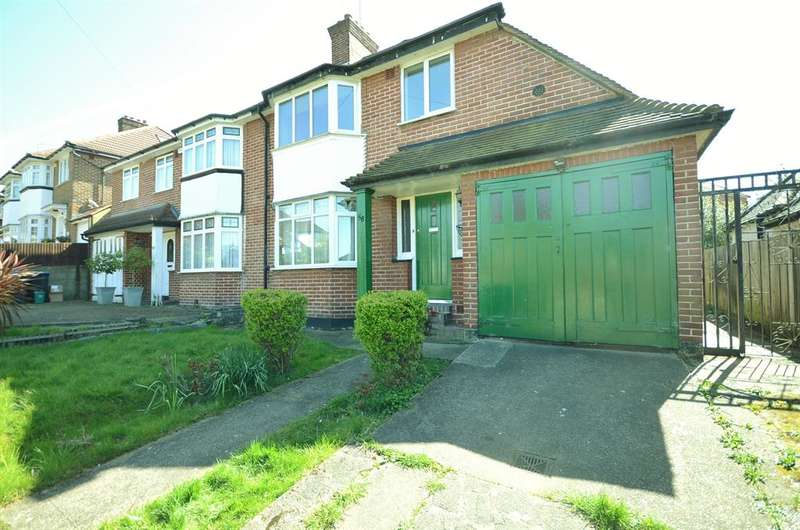 3 Bedrooms Semi Detached House for sale in West Hill, Wembley, HA9 9RS