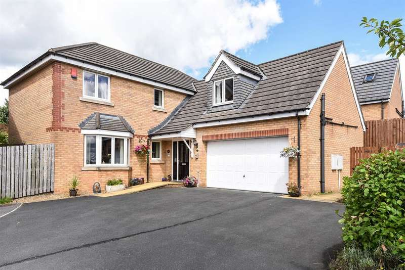 5 Bedrooms Detached House for sale in Broadwell Drive, Shipley, BD18 1QN