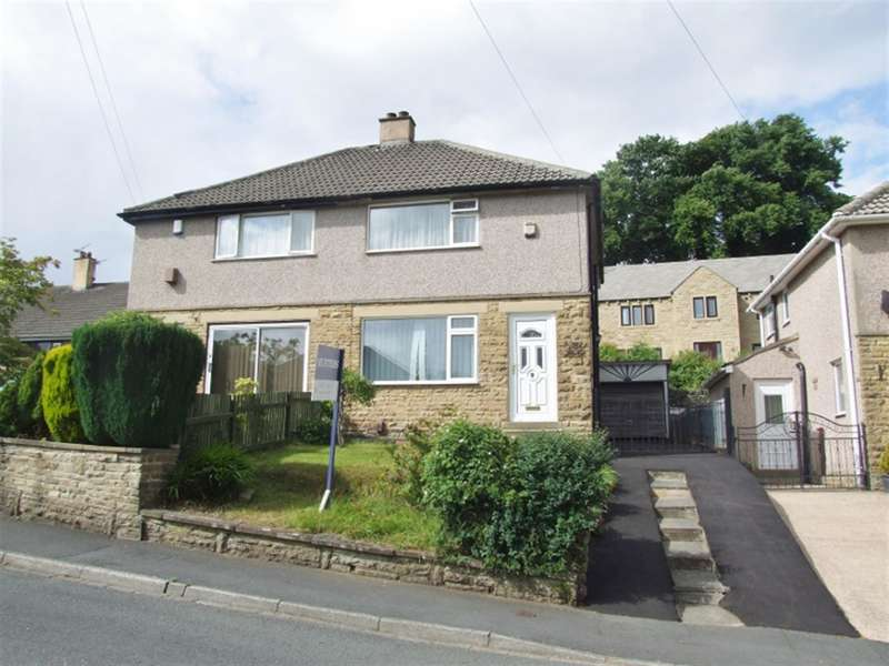 2 Bedrooms Semi Detached House for sale in Meadow Crescent, Wheatley, Halifax, HX3 5JU