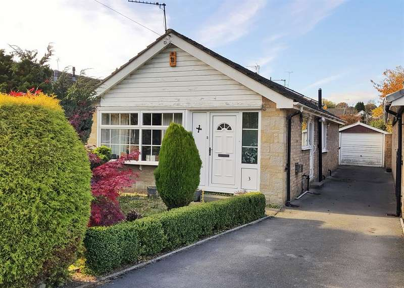 3 Bedrooms Detached Bungalow for sale in Stanhope Close, Horsforth, Leeds, LS18