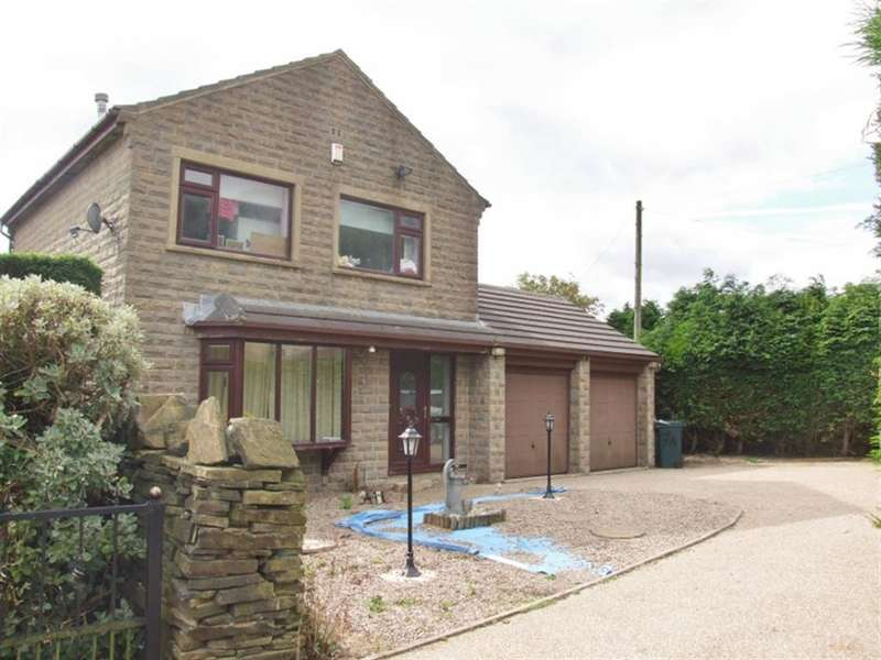 3 Bedrooms Detached House for sale in Shibden Head Lane, Ambler Thorn, Queensbury, BD13 2NH