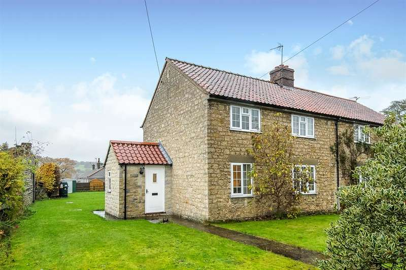 3 Bedrooms Semi Detached House for sale in Pottergate, Gilling East, York, YO62 4JJ