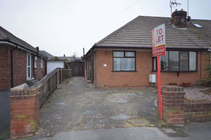 2 Bedrooms Semi Detached Bungalow for sale in 11 Ryecroft Avenue, Hambleton Lancs FY6 9AB