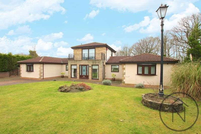 4 Bedrooms Detached Bungalow for sale in The Bridle, Woodham, Newton Aycliffe