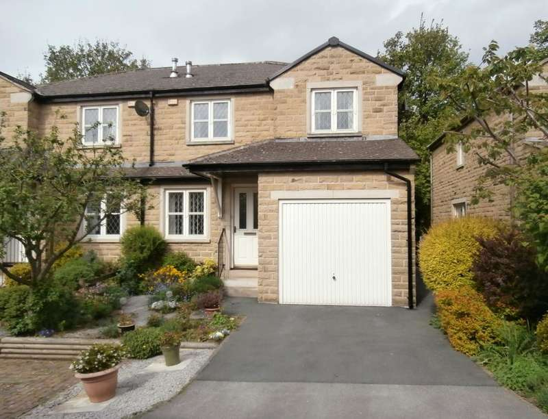 3 Bedrooms Semi Detached House for sale in The Ridings, Utley, Keighley, BD20