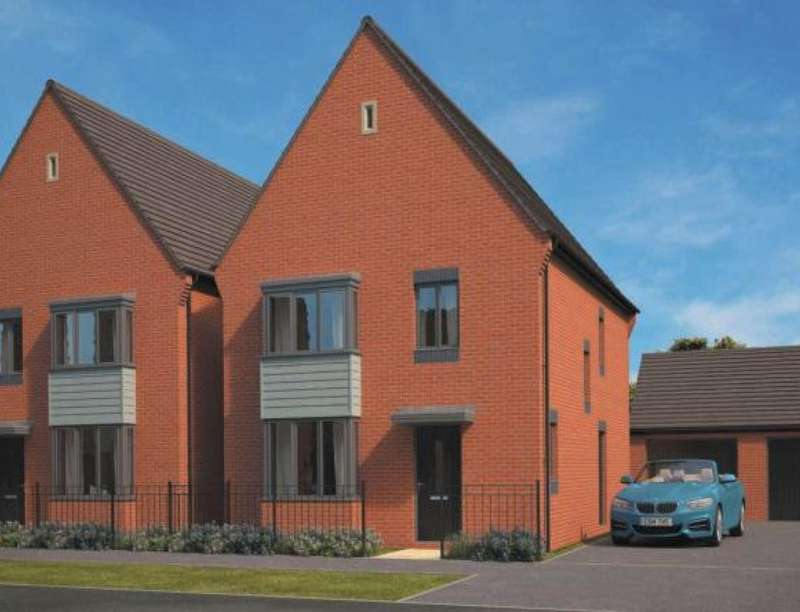 4 Bedrooms Detached House for sale in Eastfields, Lawley Village, Telford, TF3