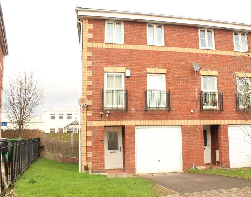 3 Bedrooms End Of Terrace House for sale in Heol Dewi Sant, Cardiff