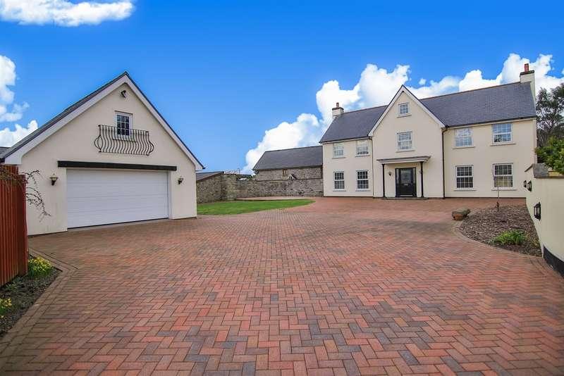 4 Bedrooms Detached House for sale in Eglwys Nunnydd, Margam