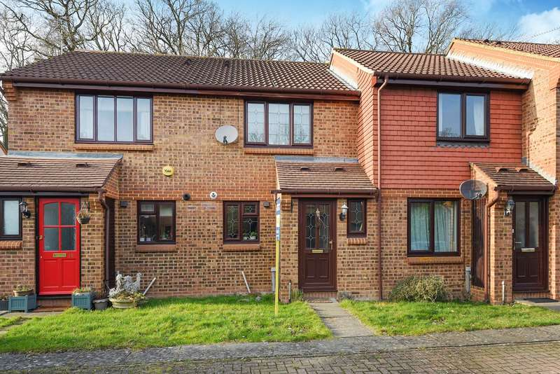 2 Bedrooms Terraced House for sale in Great Oaks Chase, Chineham, Basingstoke, RG24