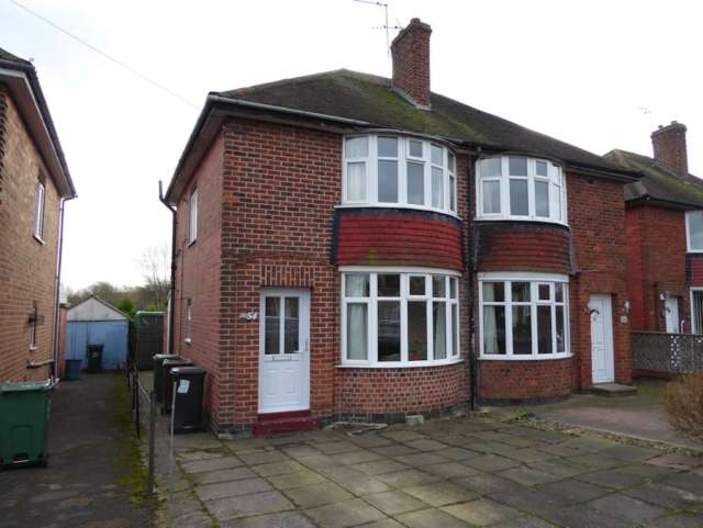 2 Bedrooms Semi Detached House for sale in King George Road Loughborough