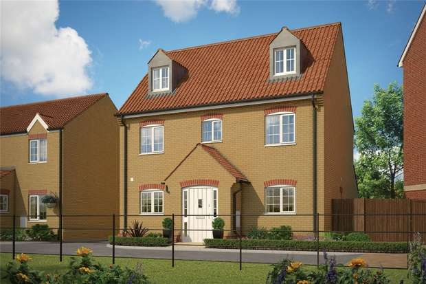5 Bedrooms Detached House for sale in Marston Place, Wixams