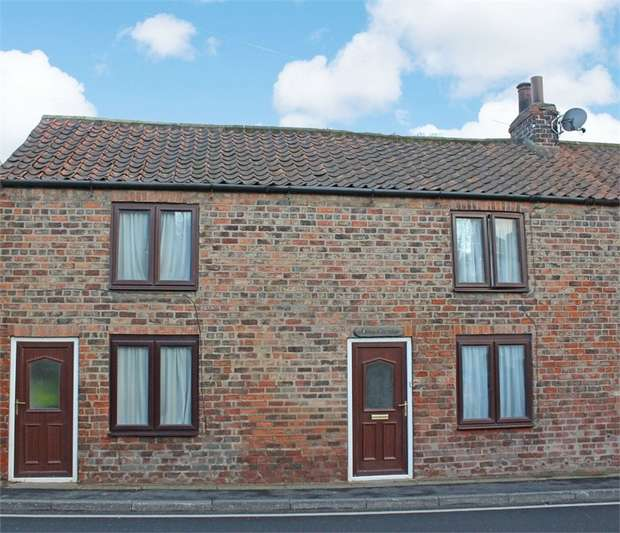 3 Bedrooms End Of Terrace House for sale in Front Street, Langtoft, Driffield, East Riding of Yorkshire