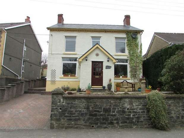 4 Bedrooms Detached House for sale in Maes Gwyn, 67 Heol Tawe, Abercrave, Swansea, Powys