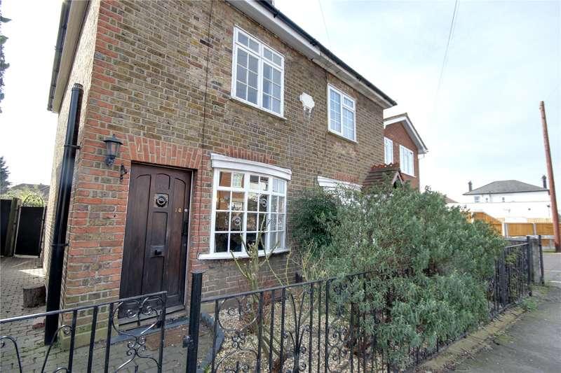 2 Bedrooms Semi Detached House for sale in Mead Lane, Chertsey, Surrey, KT16
