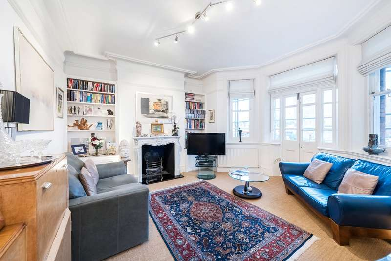2 Bedrooms Flat for sale in Linkenholt Mansions, Stamford Brook Avenue, London, W6