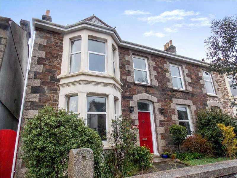 4 Bedrooms Semi Detached House for sale in Albany Road, Redruth