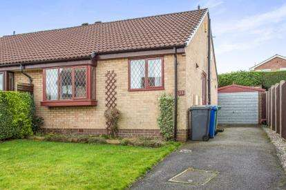 2 Bedrooms Bungalow for sale in Tunstall Green, Chesterfield, Derbyshire