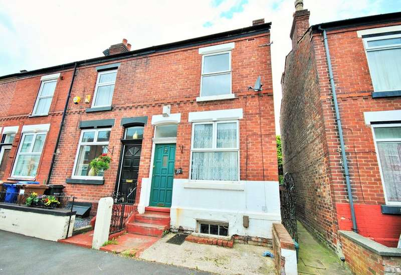 2 Bedrooms Terraced House for sale in Freemantle Street, Edgeley